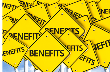 Benefits on Signs